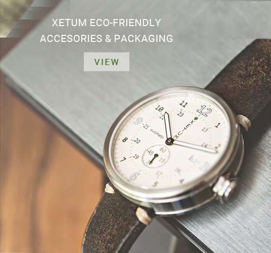 Xetum's Eco friendly automatic watches