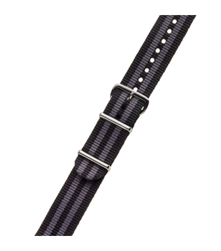 BLACK / BLUE NYLON STRAP